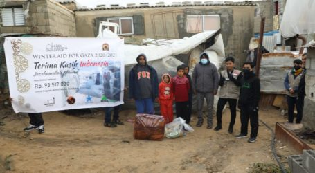 AWG and Mae_C's Winter Aid Arrive in Gaza