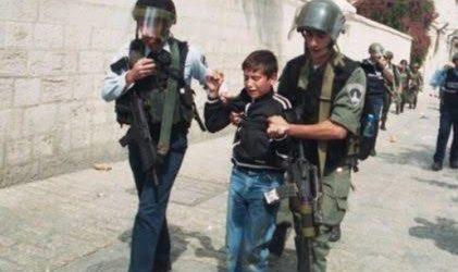Israel Kidnaps Five Palestinian Children