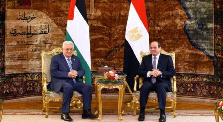 Egyptian President Affirms Support for Palestinian Struggle