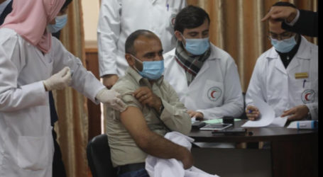Gaza Launches Drive to Roll Out Covid-19 Vaccine