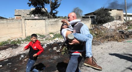 Israeli Occupation Forces Attack Palestinian Children