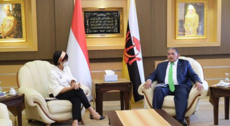 Indonesian-Brunei Foreign Minister Discuss Situation in Myanmar