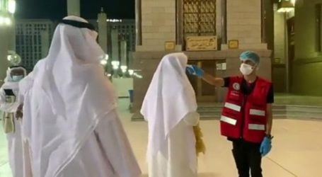 Nabawi Mosque Improves Covid-19 Prevention Measures