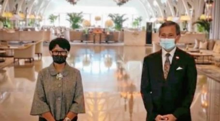 Indonesian, Singaporean FM Discusses ASEAN's Steps towards Myanmar
