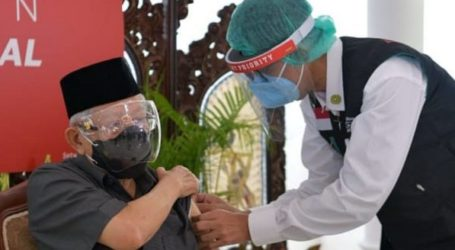 Vice President Ma'ruf Amin Received Injection of COVID-19 Vaccine