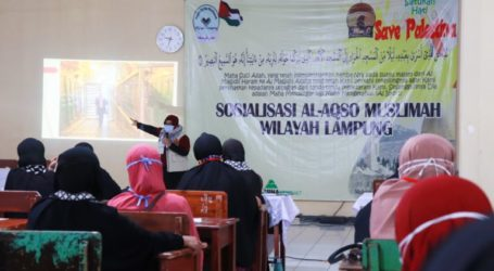 Mae_C Socializes Role of Muslim Women in Liberation Aqsa Mosque