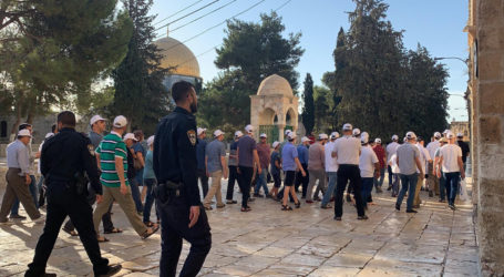 As 193 Settlers Storm Courtyards of Al-Aqsa