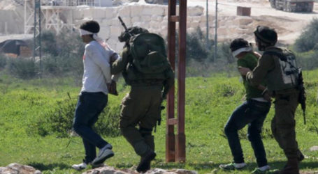Israeli Occupation Forces Detain 15 Palestinians from Occupied Territories