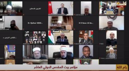 Tenth Jerusalem International Conference Concludes Its Work