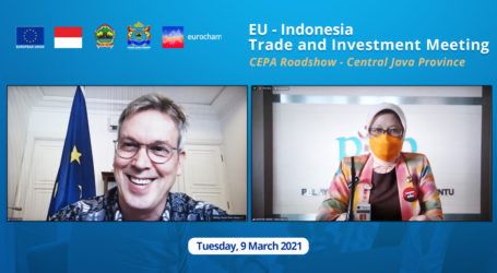 European Union Delegations Visit Central Java Through a Virtual Roadshow