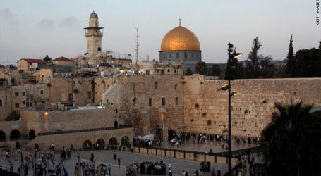 Israeli Forces Withdrawal from Jerusalem Damascus Gate