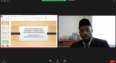 African Ulema Recommends Five Ubuntu Actions Against Israeli Apharteid