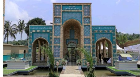 The First Uzbek-style Mosque in Indonesia officially Opened