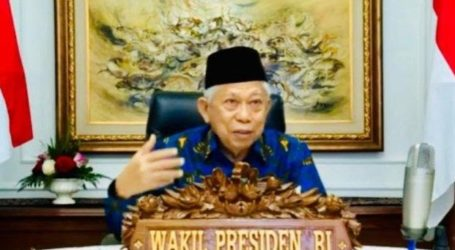 VP Amin Explains Government's Strategic Steps to Develop the Halal Industry