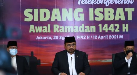Indonesian Government Sets the Beginning of Ramadan 1442 H on 13 April