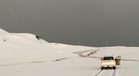 Heavy Rain and Snow in Saudi Arabia