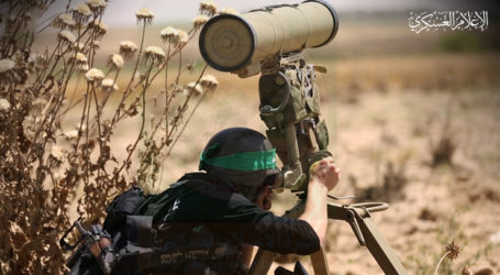 Gaza Fighter Missile Hits Israeli Military Post