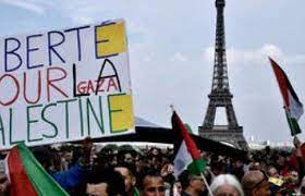 Thousands of French Citizens Hold Palestinian Nakba Day Action