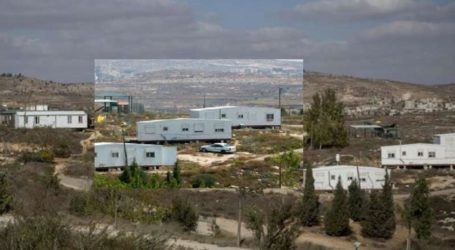 At Least 40 Unit Illegal Settlement Stand on Mount Sabih