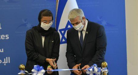 Israeli FM Lapid Visit UAE Opens First Israeli Embassy in Gulf
