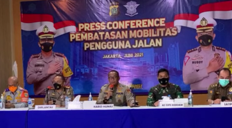 Jakarta To Limit the Mobility of Road Users at 10 Points