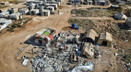 UK Charity School in Syrian Camp Destroyed in Regime Shelling