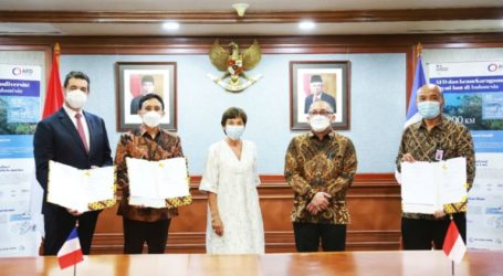 Indonesia, France Strengthen Maritime Cooperation