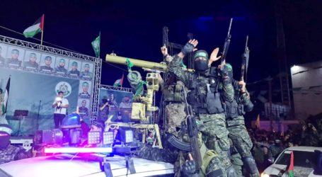 Al-Qassam Brigades Launches Number of Military Parades Across Gaza
