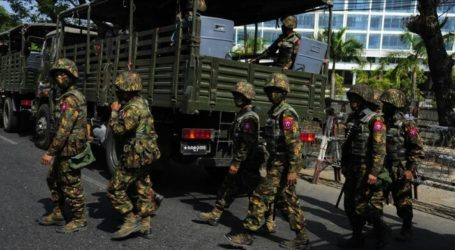 Myanmar Military Coup Death Toll Reaches 863