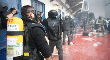 """Israeli """"Masada"""" Unit Attacks Palestinian Prisoners in Gilboa Prison"""