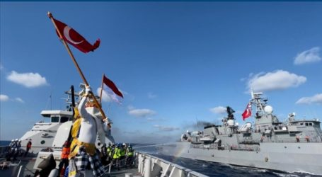 Indonesian and Turkish Warships Hold Joint Exercises in the Mediterranean Sea