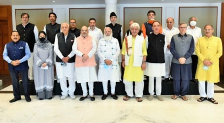 Indian PM Meets Kashmir Leaders for First Time Since Autonomy Revoked