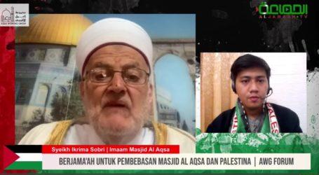 Sheikh Ikrima Affirms Al-Aqsa Mosque Belongs to Muslims
