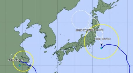 Typhoon on Track to Hit Japan's Main Island July 28 During Olympics
