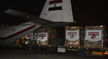Egypt Sends 31 Tons of Coronavirus Medical Aid to Tunisia