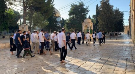Dozens of Settlers Carry Out Provocative Tours in Al-Aqsa