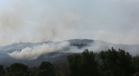 Settlers Sett Fire to Large Areas of Jalud Lands