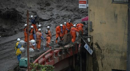 At Least 80 People Missing from Landslides in Japan
