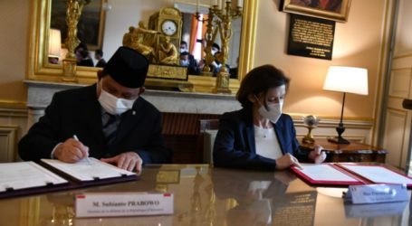 Indonesia and France Sign Defense Cooperation Agreement