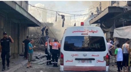 Mysterious Explosion in Central Gaza Resulted in One Death and Injuries