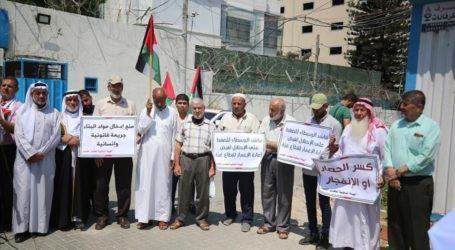 Palestinians Rally for Gaza Rebuilding, Ending Israeli Siege