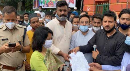 Indian Muslims Protest Hate Speech of Hinduvta Group
