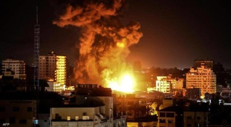 Palestinian Factions Response Israeli Attacks with Anti-aircraft Missiles