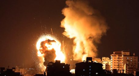 Israeli Occupation Launches Violent Airstrikes at Several Sites in Gaza