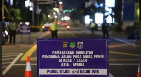Indonesia Extends Activity Restrictions Level 4 in Java-Bali Until August 16