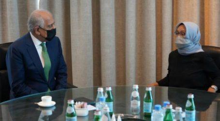 Indonesian FM Meets with Taliban Representatives in Qatar