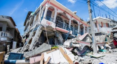 As 724 People Dead after Powerful Earthquake Struck Haiti