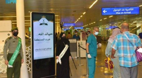 The First Wave of Foreign Umrah Pilgrims Arrive in Medina
