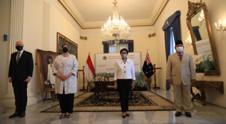 Indonesia-Australia 2+2 Meeting to Discuss Issues of Myanmar to Afghanistan