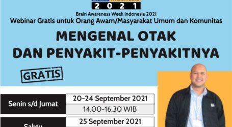 Indonesia Neuroscience Institute Successfully Held Brain Care Week 2021